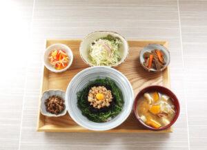 Wひじき丼定食